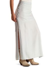 Tasha Polizzi Blue Women's Concert Skirt, , hi-res