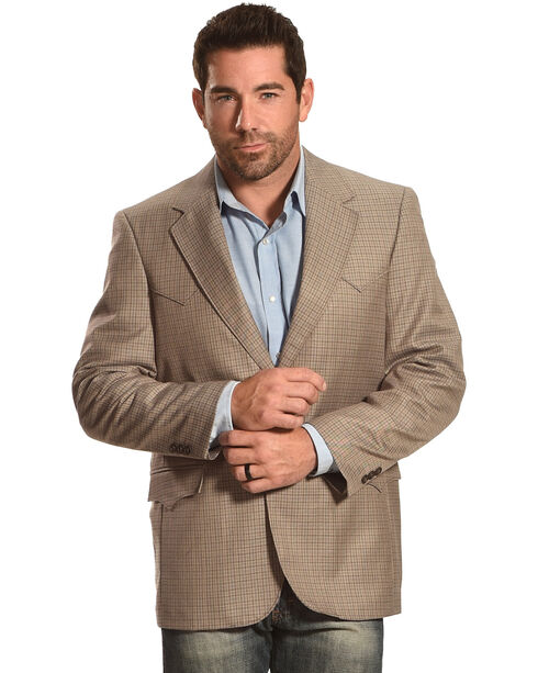 Circle S Plano Sport Coat - Big & Tall, , hi-res