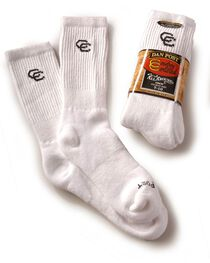 Dan Post Men's Cowboy Certified All Around Crew Socks, , hi-res