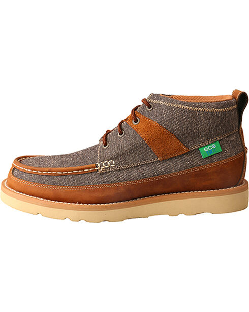 Twisted X Men's ECO TWX Casual Shoes - Round Toe, Brown, hi-res