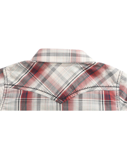 Cody James Boys' Plaid Gold Nugget Long Sleeve Shirt, , hi-res