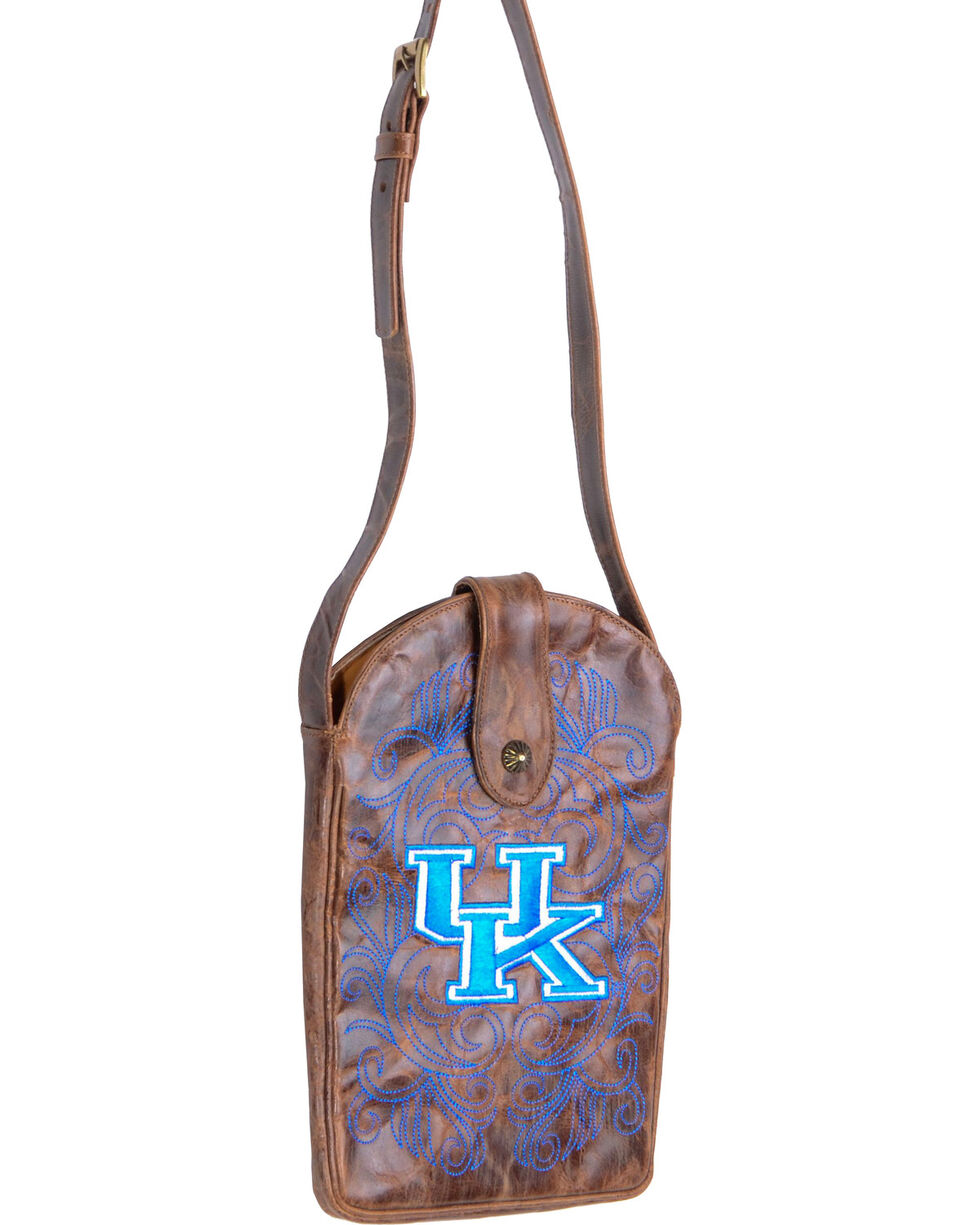 Gameday Boots University of Kentucky Crossbody Bag, Brass, hi-res