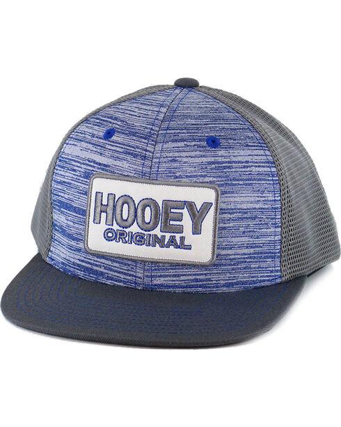 HOOey Men's Original Trucker Ball Cap, Blue, hi-res