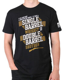 Brothers & Arms Men's Double Barrel Shotgun T-Shirt, , hi-res