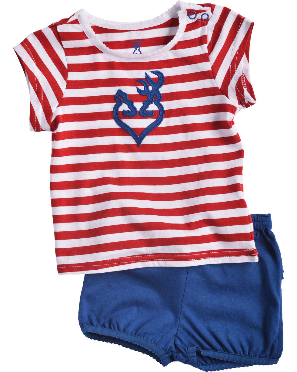 Browning Infant Girls' Stardust Set , Red/white/blue, hi-res