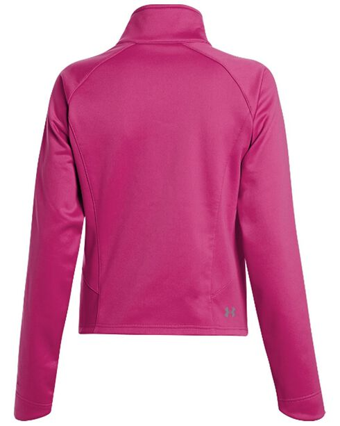Under Armour UA ColdGear Infrared Softershell Jacket, Pink, hi-res