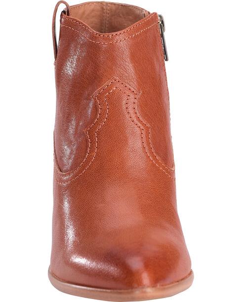 Frye Women's Cognac Reina Leather Booties - Pointed Toe , Cognac, hi-res