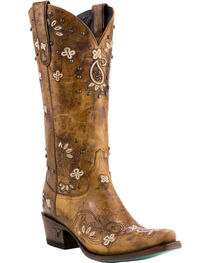 Lane Women's Sweet Paisley Boots - Pointed Toe , , hi-res