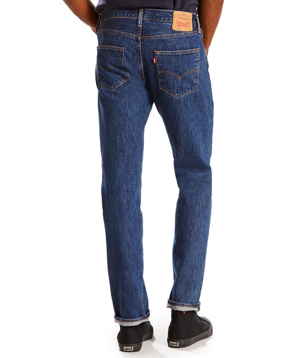 Levi's Men's Dark Blue 501 Original Jeans -Straight Leg, Dark Blue, hi-res