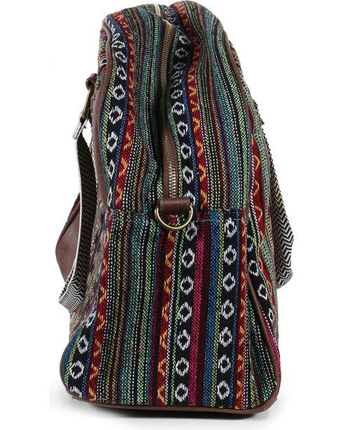 Catchfly Women's Daphne Overnight Bag, Brown, hi-res