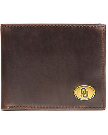 Jack Mason Men's Oklahoma Legacy Traveler Wallet , , hi-res