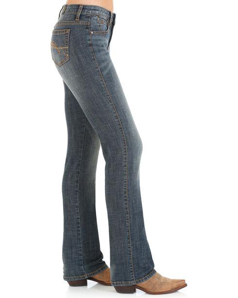 Wrangler Women's Indigo Aura Instantly Slimming Jeans - Plus Size , Indigo, hi-res
