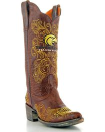 Gameday University of Southern Mississippi Cowgirl Boots - Pointed Toe, , hi-res