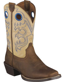 Ariat Youth Crossfire Western Boots, , hi-res
