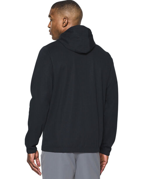 Under Armour Men's Black Storm Spring Swacket Hoodie, Black, hi-res