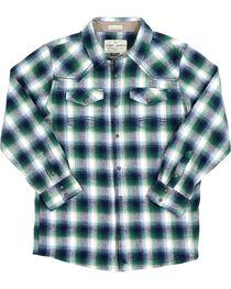 Cody James® Boys' Plaid Long Sleeve Flannel, , hi-res