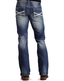 Stetson Rock Fit Bold X Stitched Jeans, , hi-res