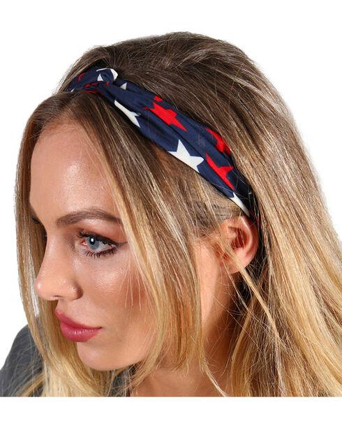 Shyanne® Women's Spangled Stars Headband, Multi, hi-res