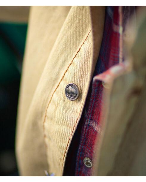 Ryan Michael Men's Distressed Barn Coat, Tan, hi-res