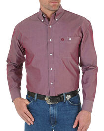 Wrangler Men's Rustic Long Sleeve Shirt, , hi-res