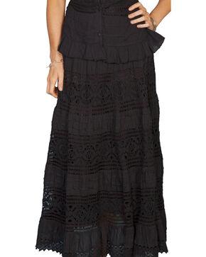 Scully Women's Yoga Knit Skirt, Black, hi-res
