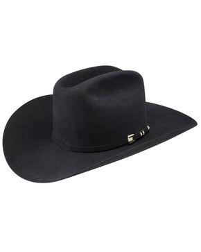 Stetson Men's Diamante 1000X Fur Felt Cowboy Hat, Black, hi-res