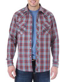 Wrangler 20X Men's Plaid Long Sleeve Shirt, , hi-res