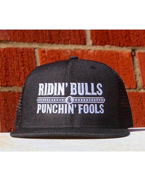 Dale Brisby Men's Ridin' Bulls & Punchin' Fools Cap , Black, hi-res