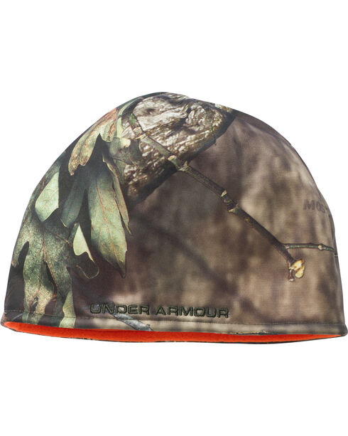Under Armour Men's Reversible Mossy Oak Beanie, Mossy Oak, hi-res