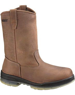 Wolverine Men's DuraShocks® Insulated Waterproof Wellington Boots, Brown, hi-res