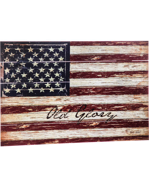 Evergreen Old Glory U.S. Flag Wall Sign , Multi, hi-res