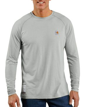Carhartt Men's Flame Resistant Force T-Shirt, Grey, hi-res