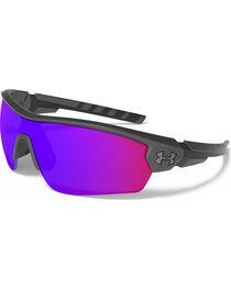 Under Armour Men's UA Rival Infrared Sunglasses, Grey, hi-res