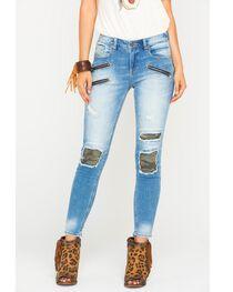 Miss Me Women's Indigo Mission Complete Ankle Jeans - Skinny , , hi-res