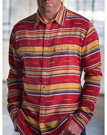 Ryan Michael Men's Brick Serape Western Shirt, , hi-res