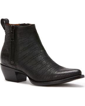 Frye Women's Black Sacha Moto Shorties - Pointed Toe , Black, hi-res