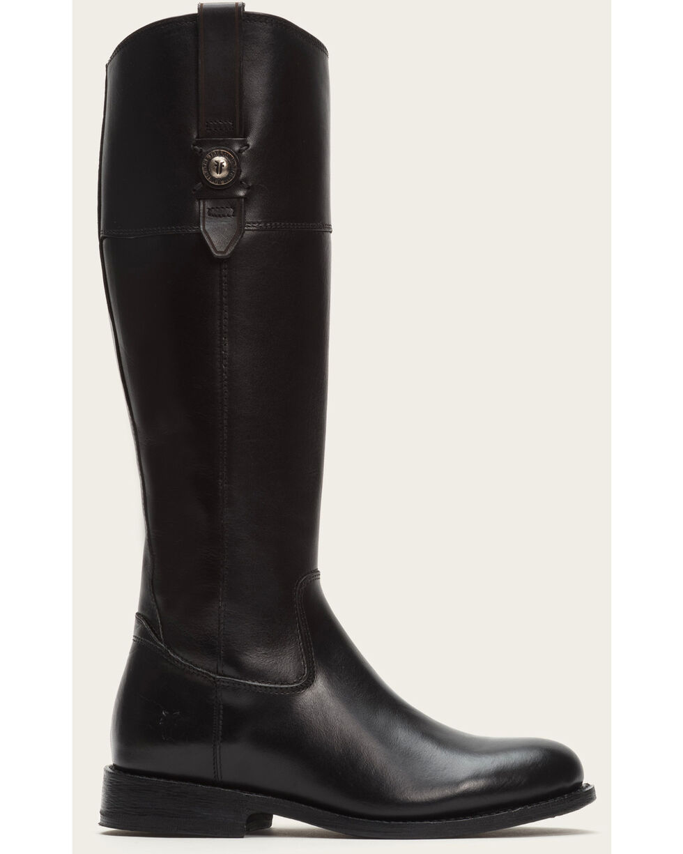 Frye Women's Black Jayden Button Tall Boots - Round Toe , Black, hi-res