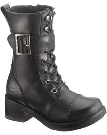 Harley-Davidson Women's Jammie Lace Up Casual Boots, , hi-res