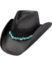 Charlie 1 Horse Women's Tulum Straw Cowgirl Hat, , hi-res