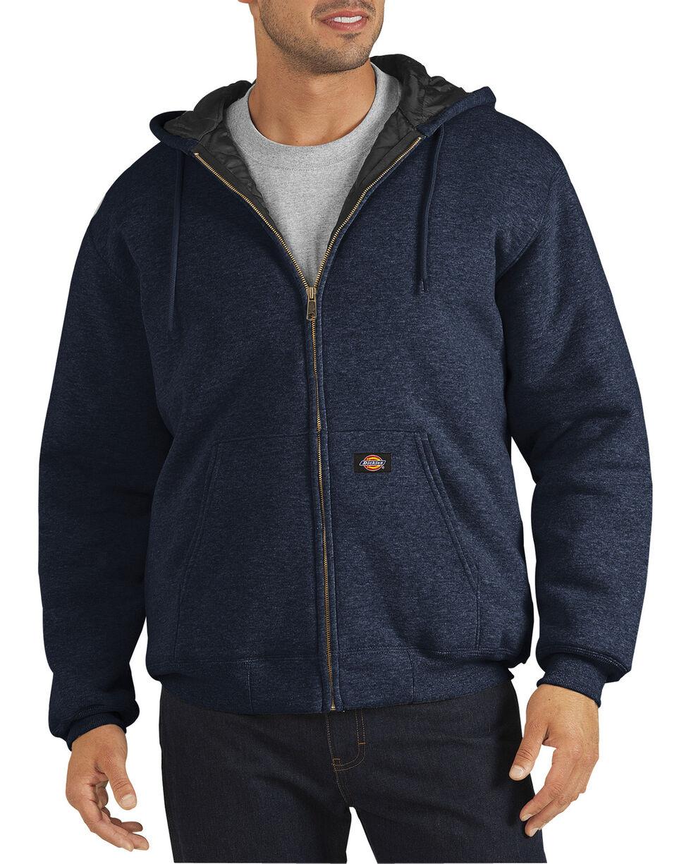 Dickies Heavyweight Quilted Fleece Zip-Up Hoodie - Big & Tall, Navy, hi-res