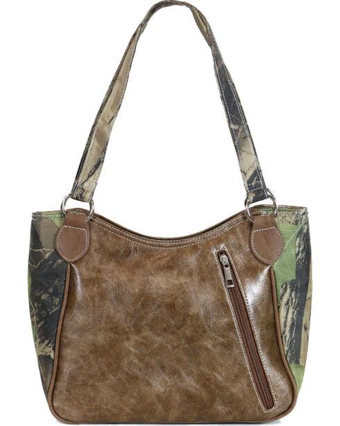 Way West Women's Camo Concealed Carry Handbag, Camouflage, hi-res