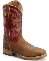 Double-H Men's Wide Square Toe ICE Roper Western Boots, , hi-res