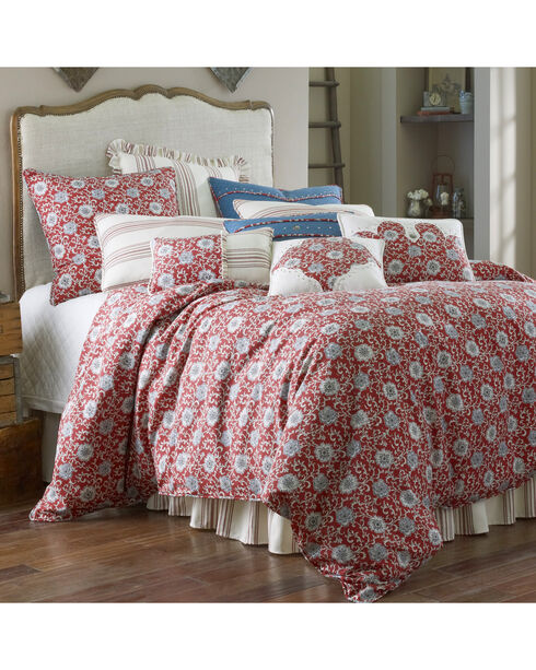 HiEnd Accents Bandera Super Queen 5-Piece Bedding Set, Multi, hi-res
