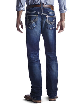 Ariat Men's M4 Low Rise Boot Cut Jeans, Indigo, hi-res