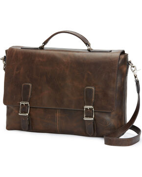 Frye Men's Logan Top Handle Bag , Slate, hi-res