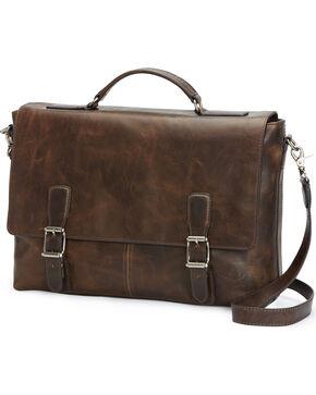 Frye Men's Logan Top Handle Bag , Slate, hi-res