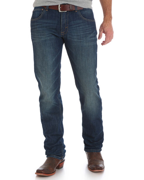 Wrangler Retro Men's Green River Slim Fit Jeans - Straight Leg, Indigo, hi-res