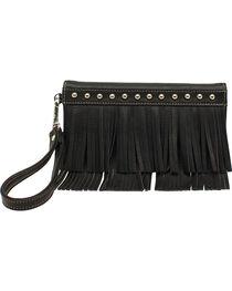 Blazin Roxx Women's Fringe Tri Fold Wallet, , hi-res