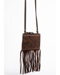 Shyanne Women's Filigree and Fringe Crossbody Bag, , hi-res