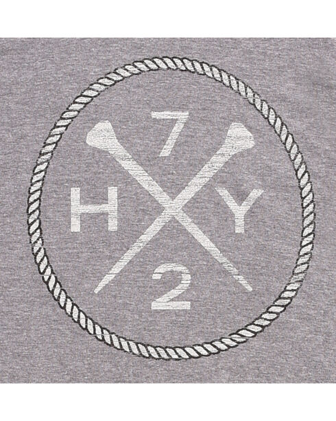 Hooey Men's Grey HY72 Baseball T-Shirt , Grey, hi-res